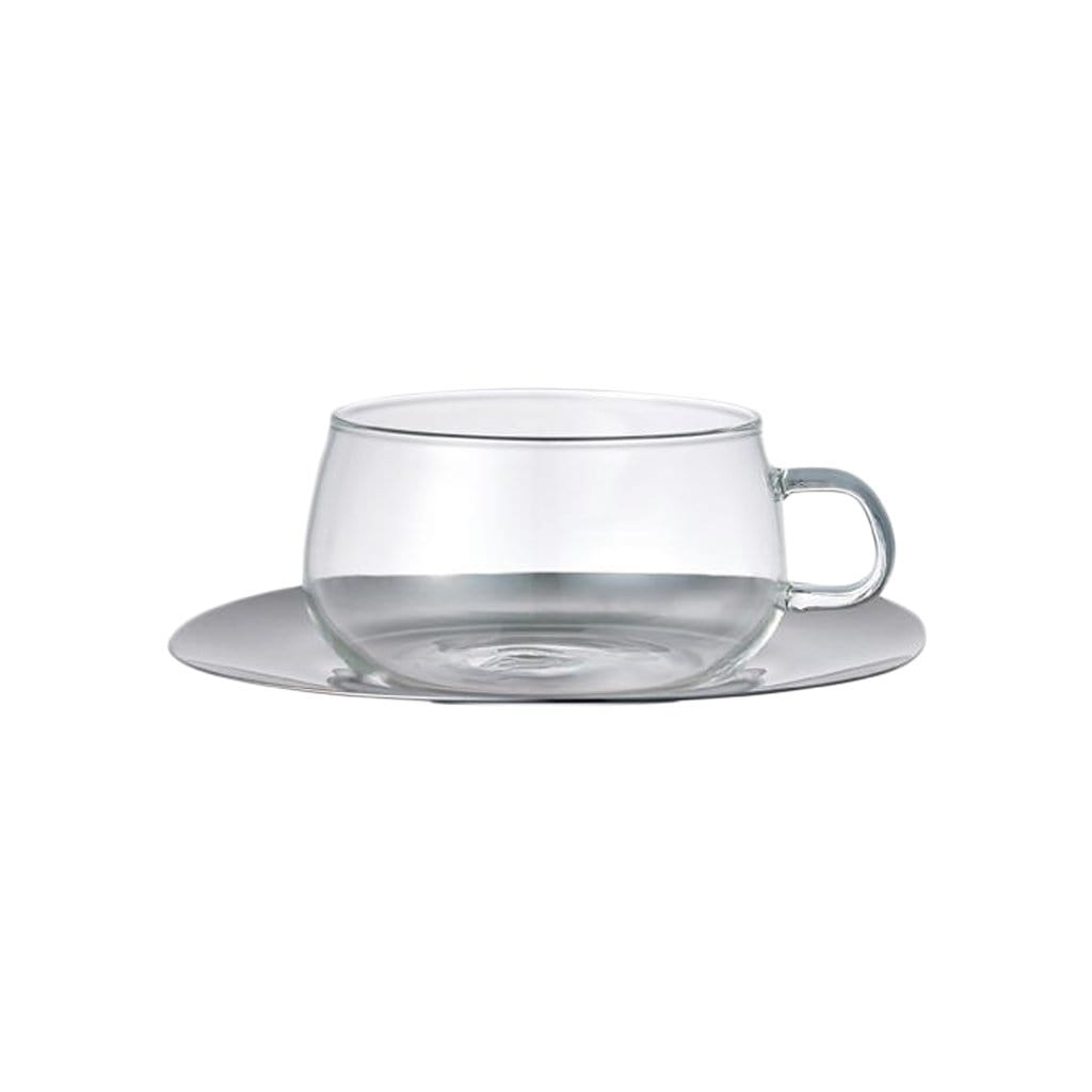 Unitea Small Cup + Stainless Steel Saucer