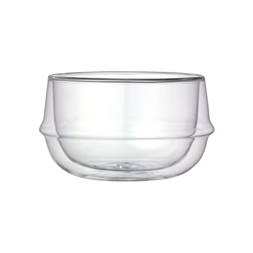 KINTO Plates + Bowls Clear Kronos Double Wall Soup Bowl