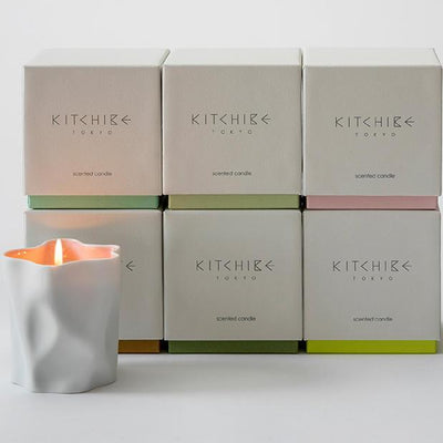 Kitchibe Candles, Diffusers + Incense Sakura Crinkle Candle