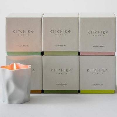 Kitchibe Candles, Diffusers + Incense Washi Crinkle Candle