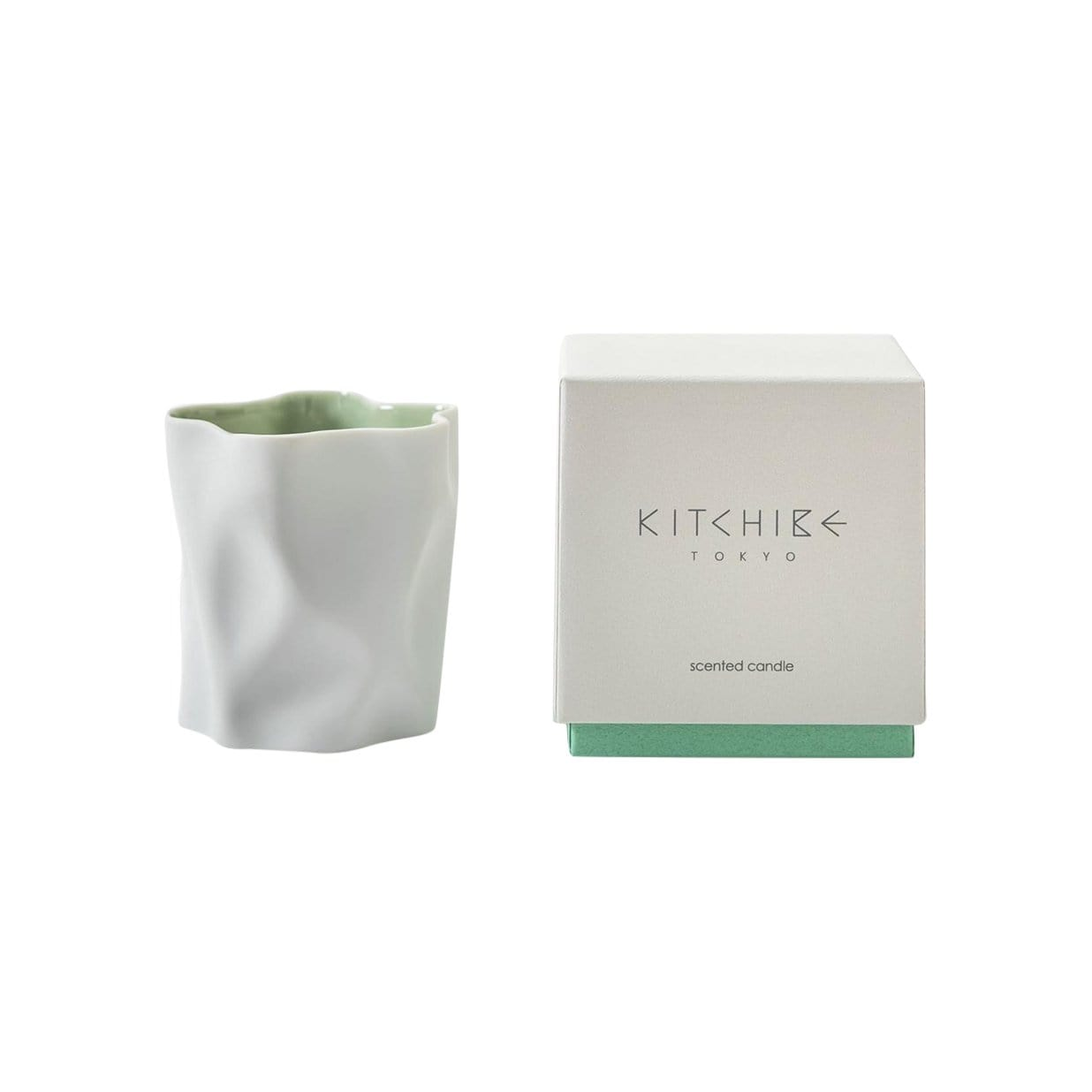 Kitchibe Candles, Diffusers + Incense Yuki Crinkle Candle