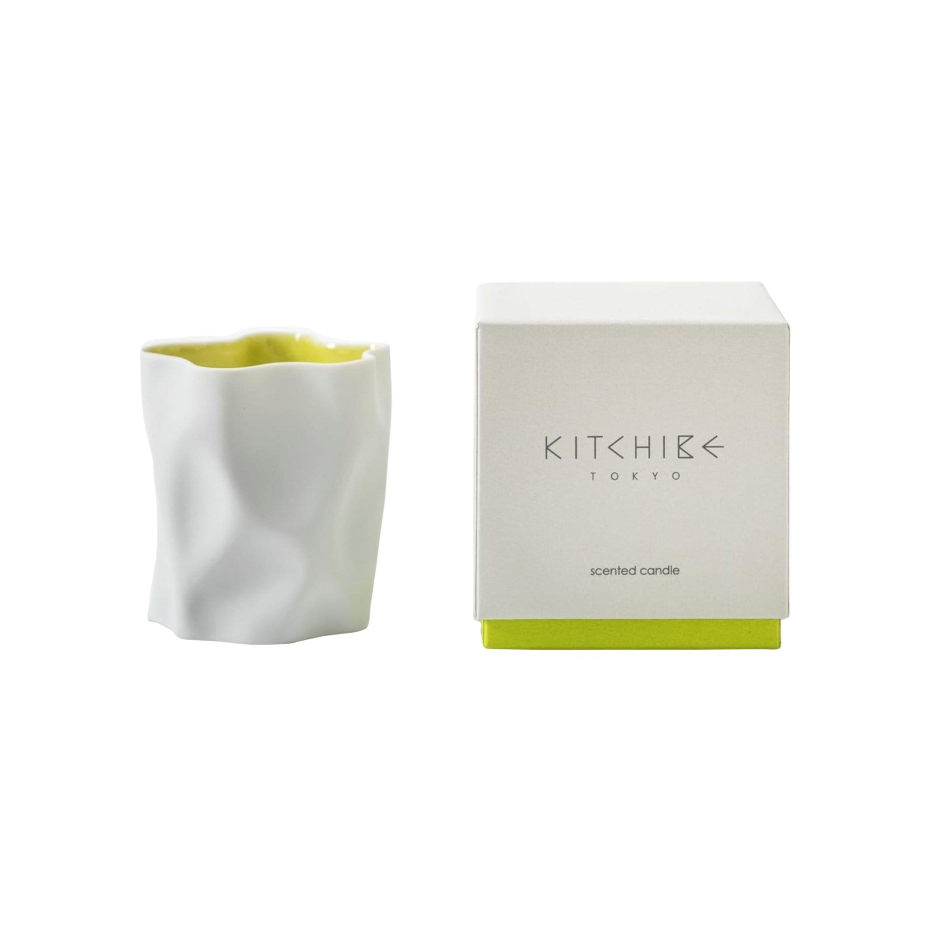 Kitchibe Candles, Diffusers + Incense Yuzu Crinkle Candle