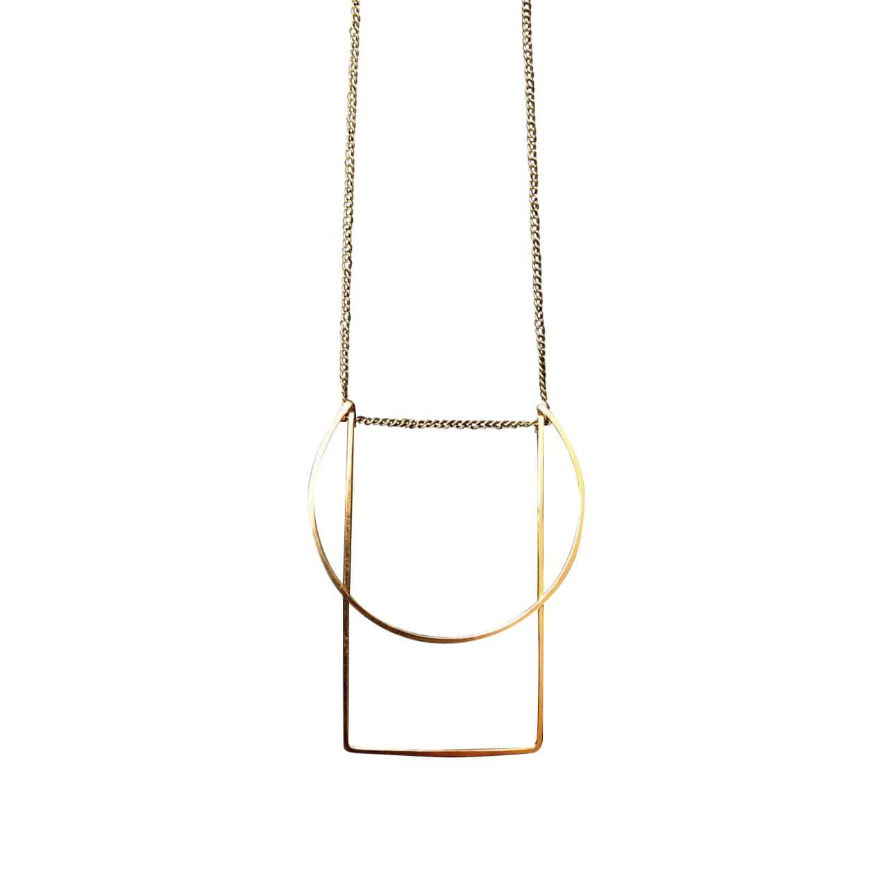 L.Greenwalt Jewelry Necklaces Morning Geometric Necklace
