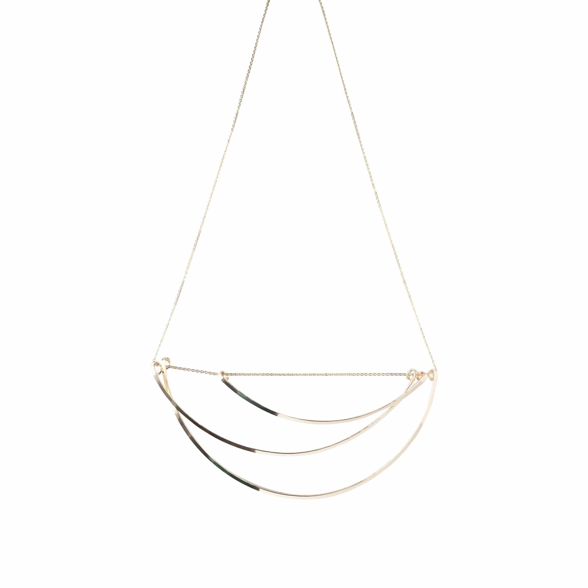 L.Greenwalt Jewelry Necklaces Tidal Asymmetrical Necklace