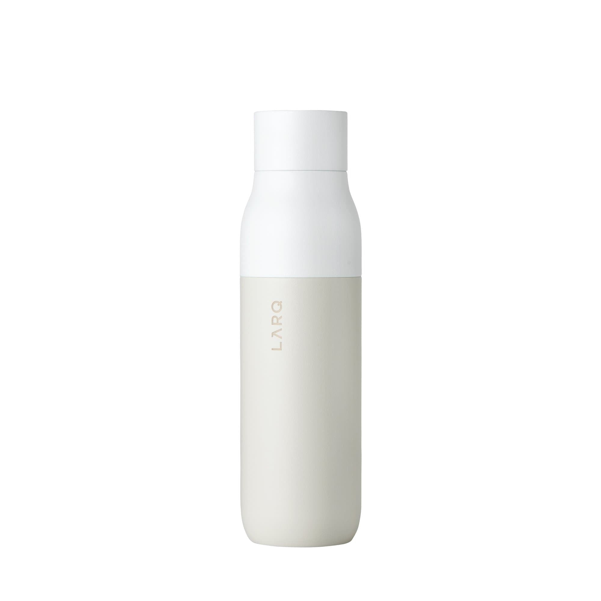 LARQ Water Bottles Granite White Bottle