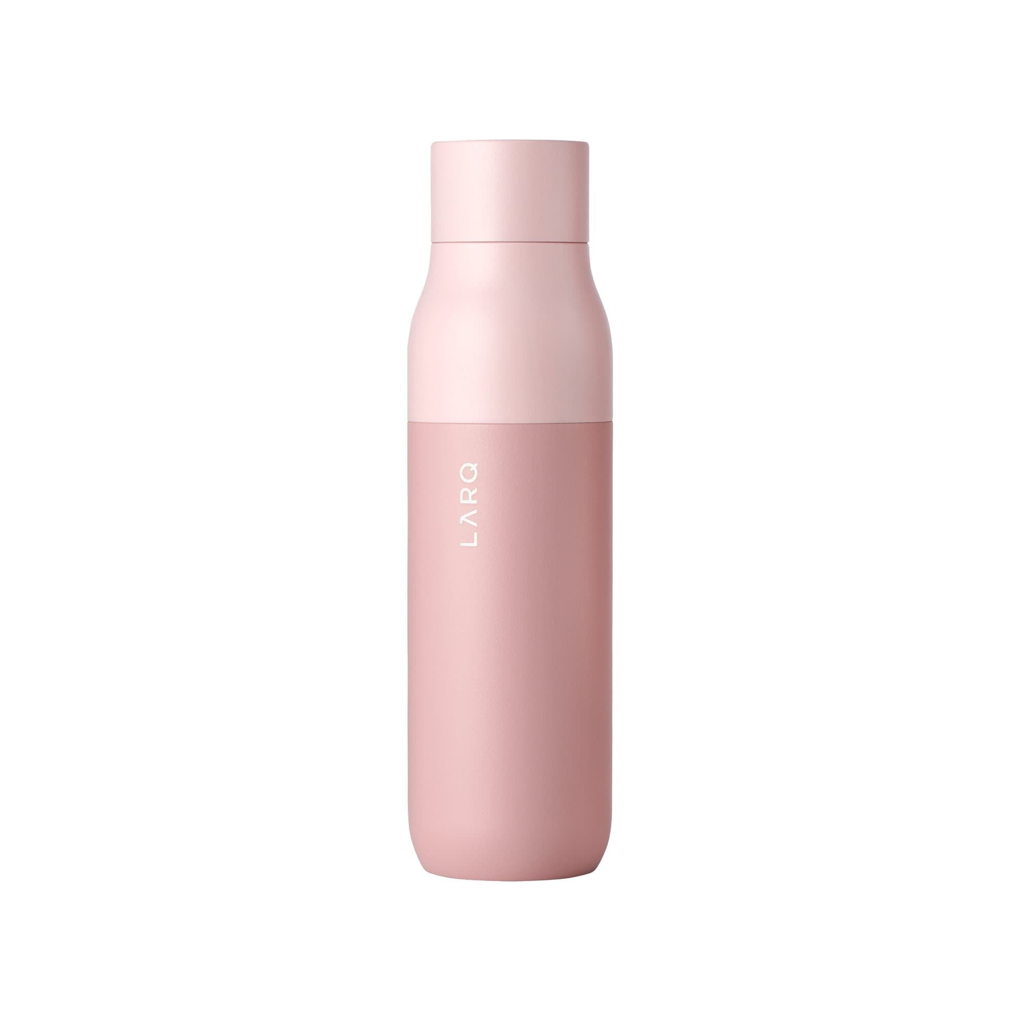LARQ Water Bottles Himalayan Pink Bottle