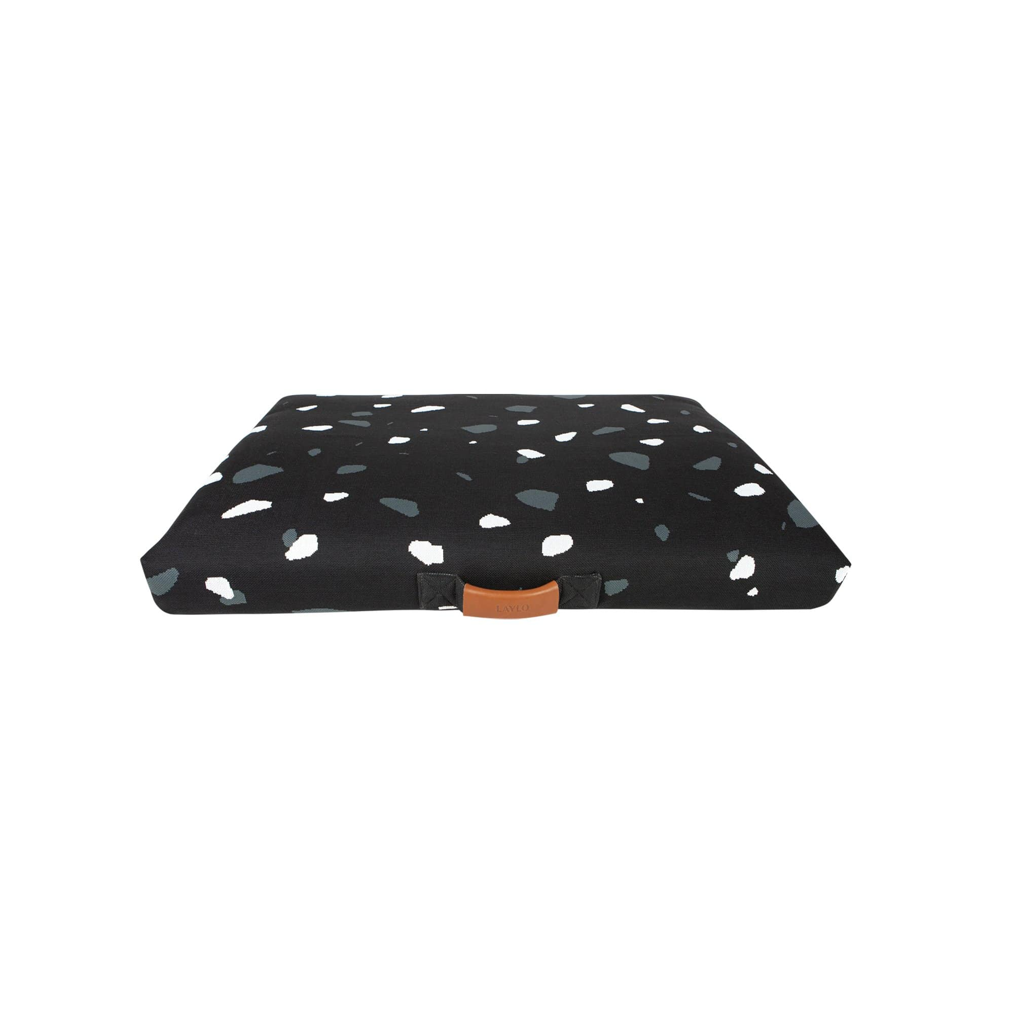 Black Terrazzo Dog Bed or Dog Bed Cover