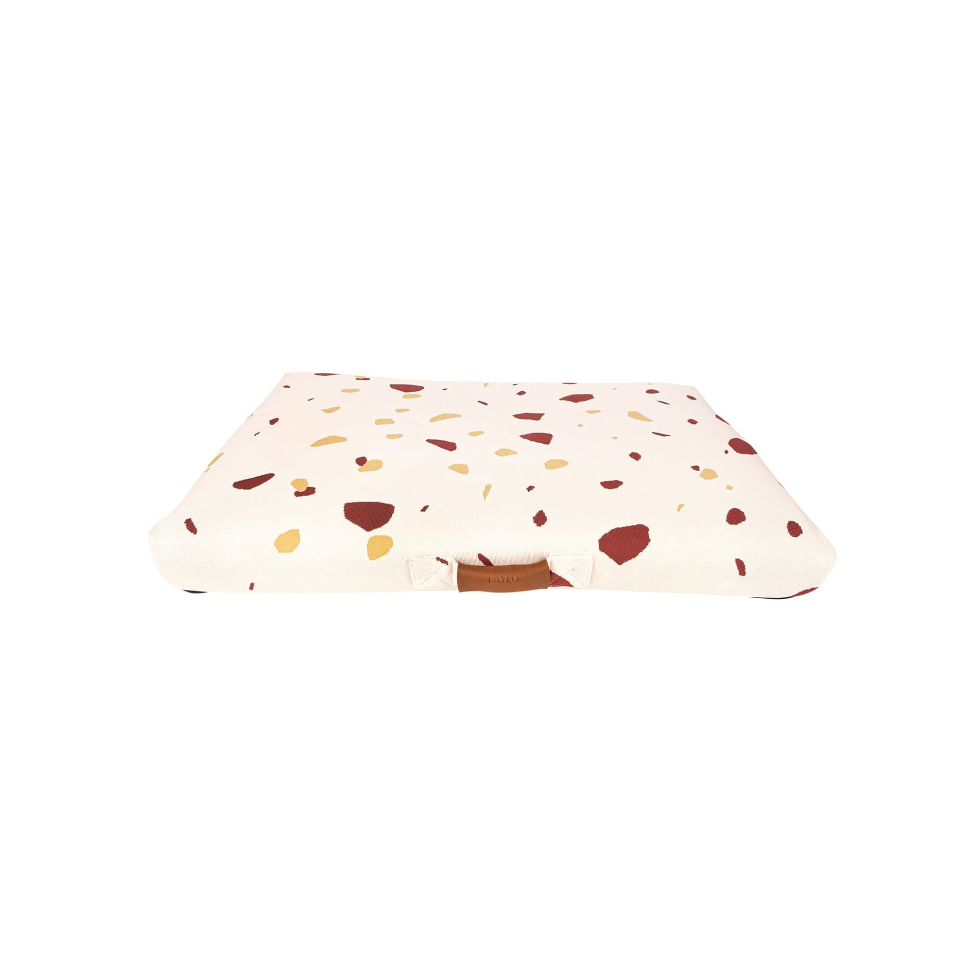 Pink Terrazzo Dog Bed or Dog Bed Cover