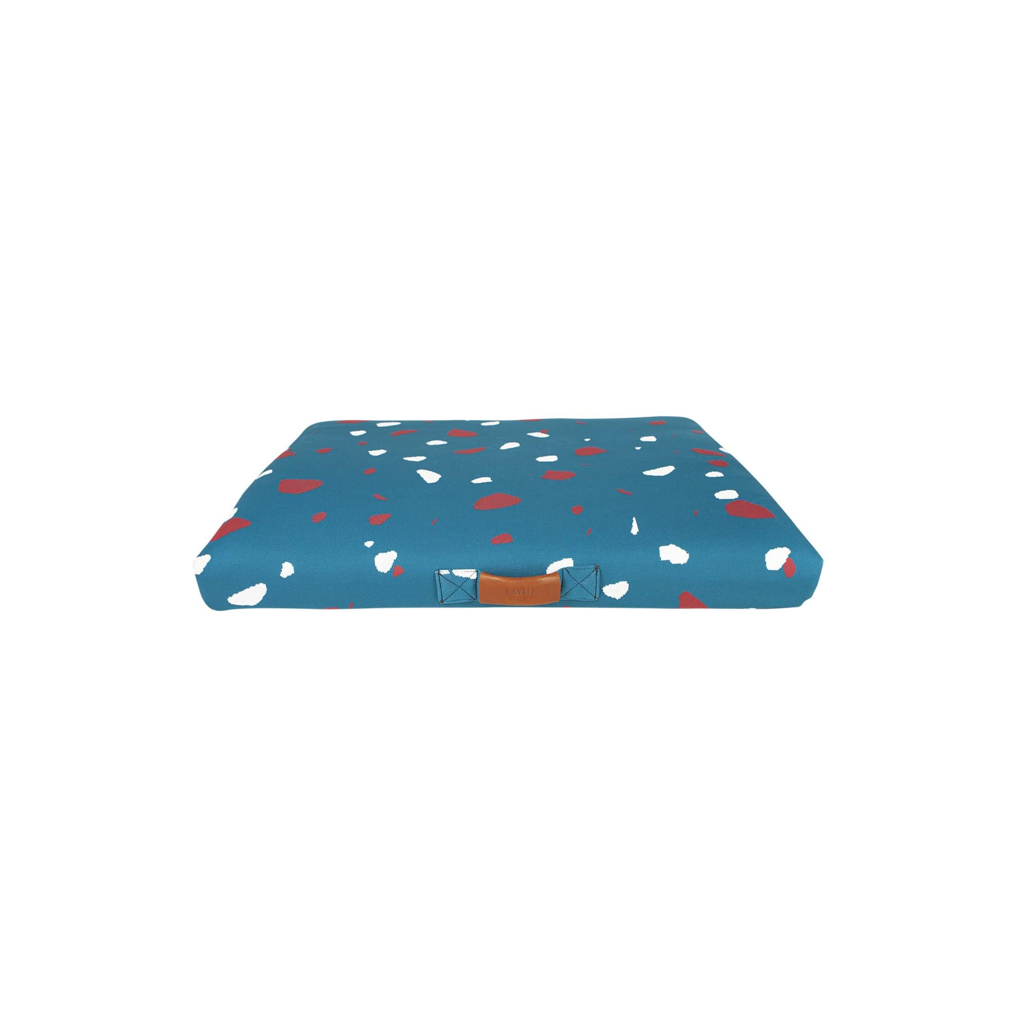 Teal Terrazzo Dog Bed or Dog Bed Cover