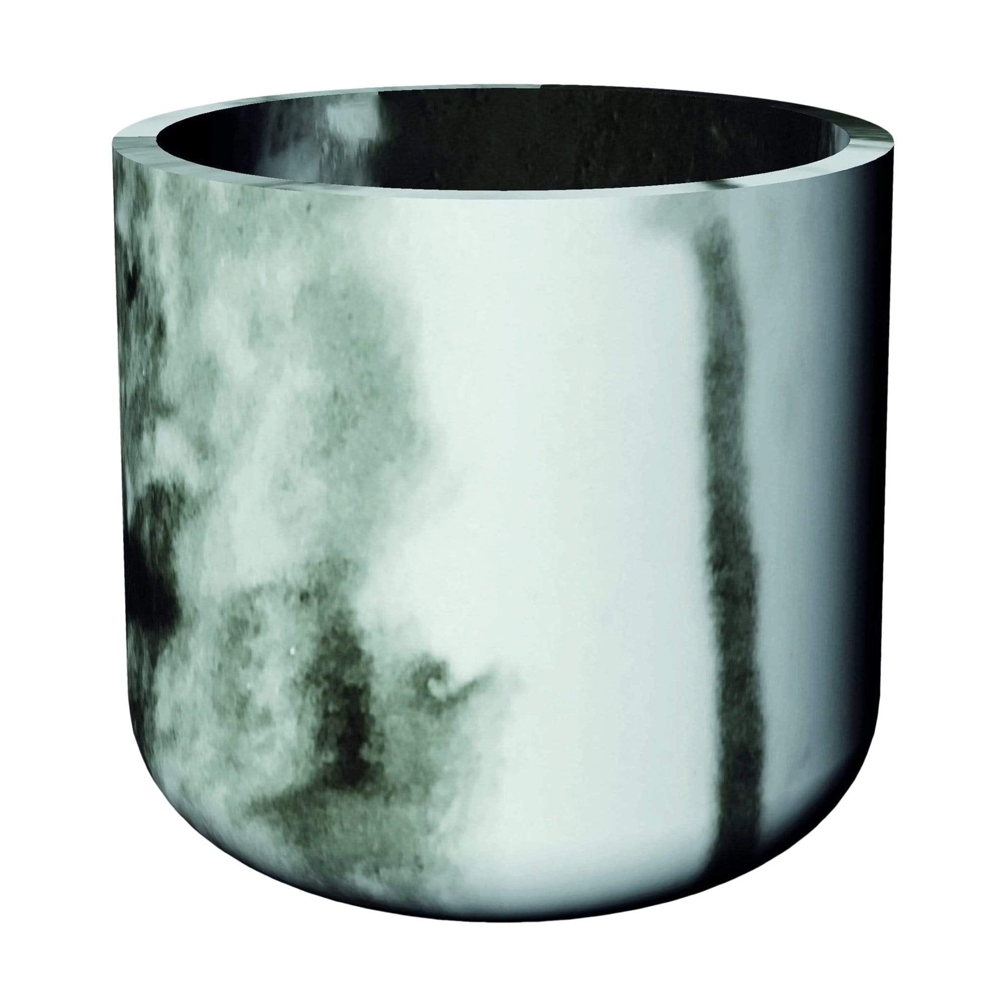 Big Cylindre Marble Planter