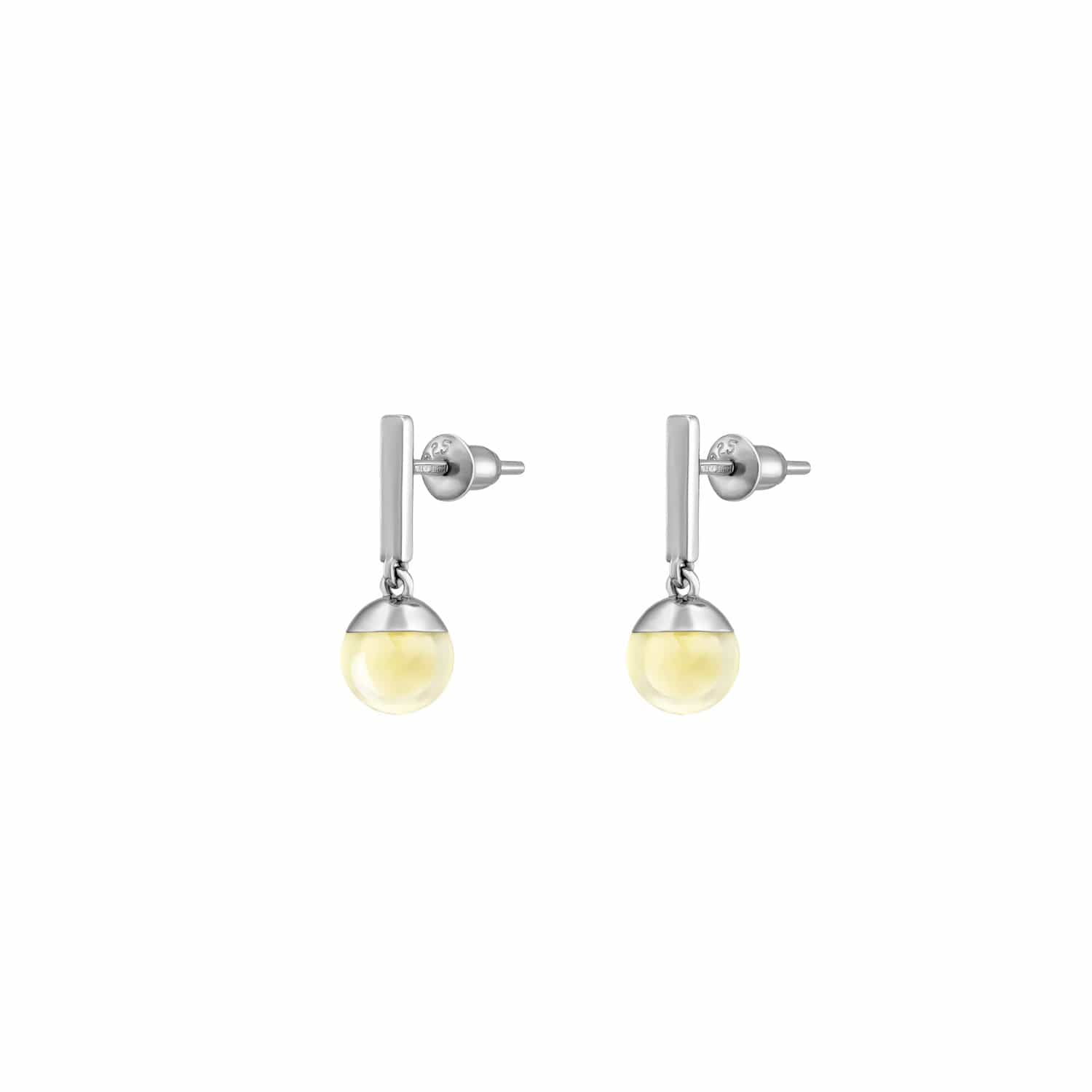 Leta Earrings 1919 Silver Drop Earrings