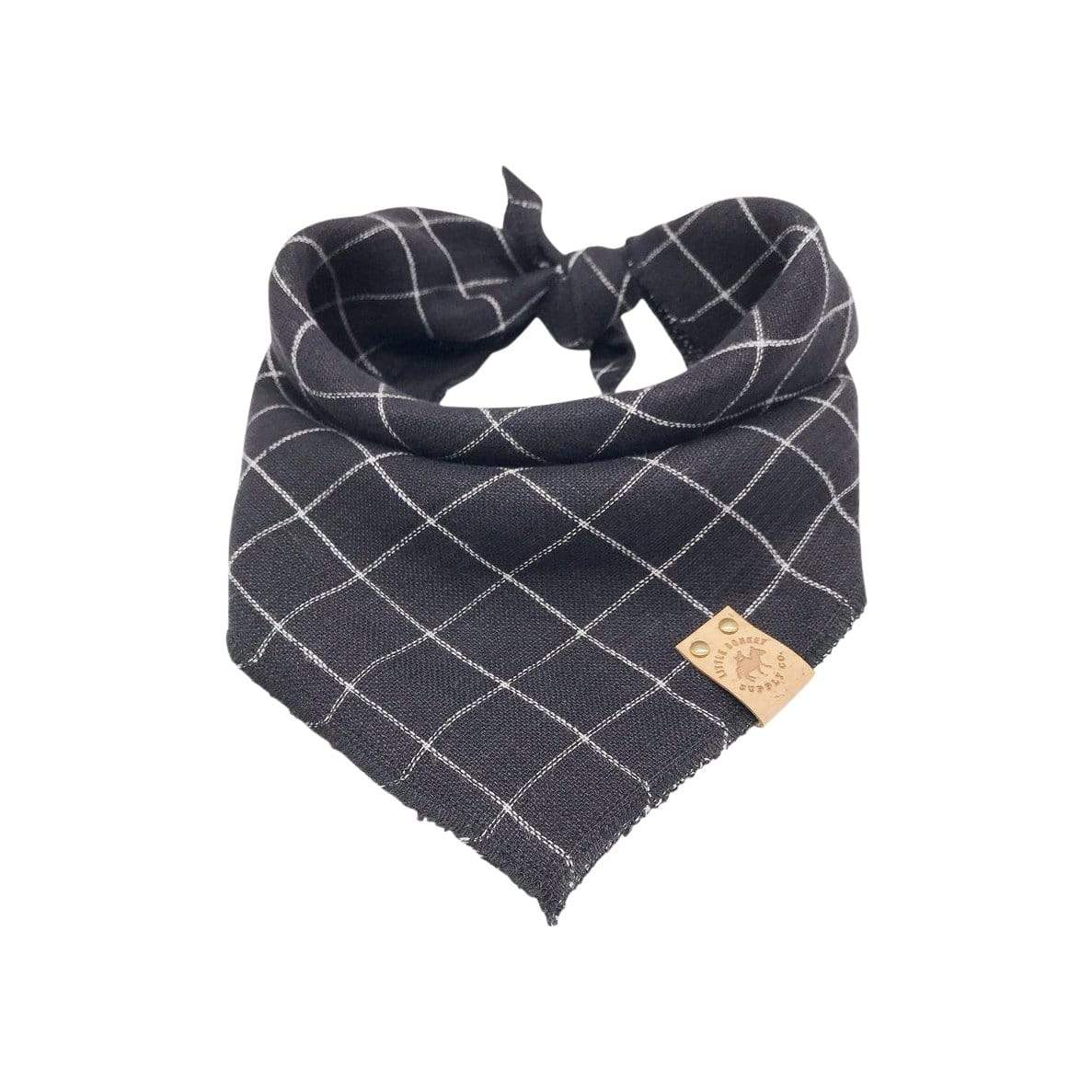 Little Donkey Supply Co. Bandanas + Bow Ties Black Dog Bandana