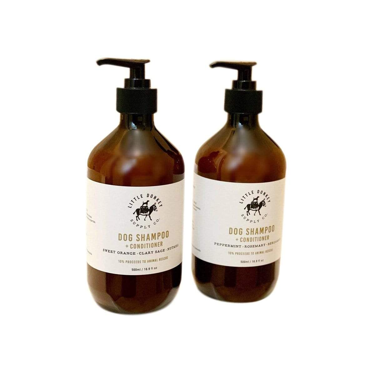 Little Donkey Supply Co. Coat Care Dog Shampoo + Conditioner