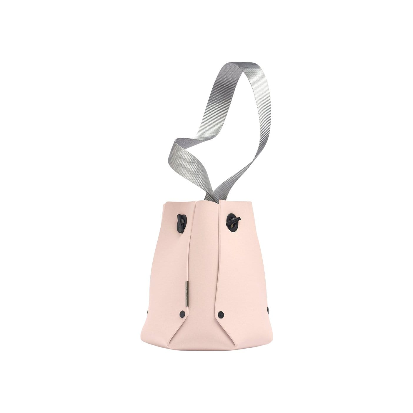 LOMMER Shoulder, Crossbody + Belt Bags Salmon / Light Grey EvaBucket Basic