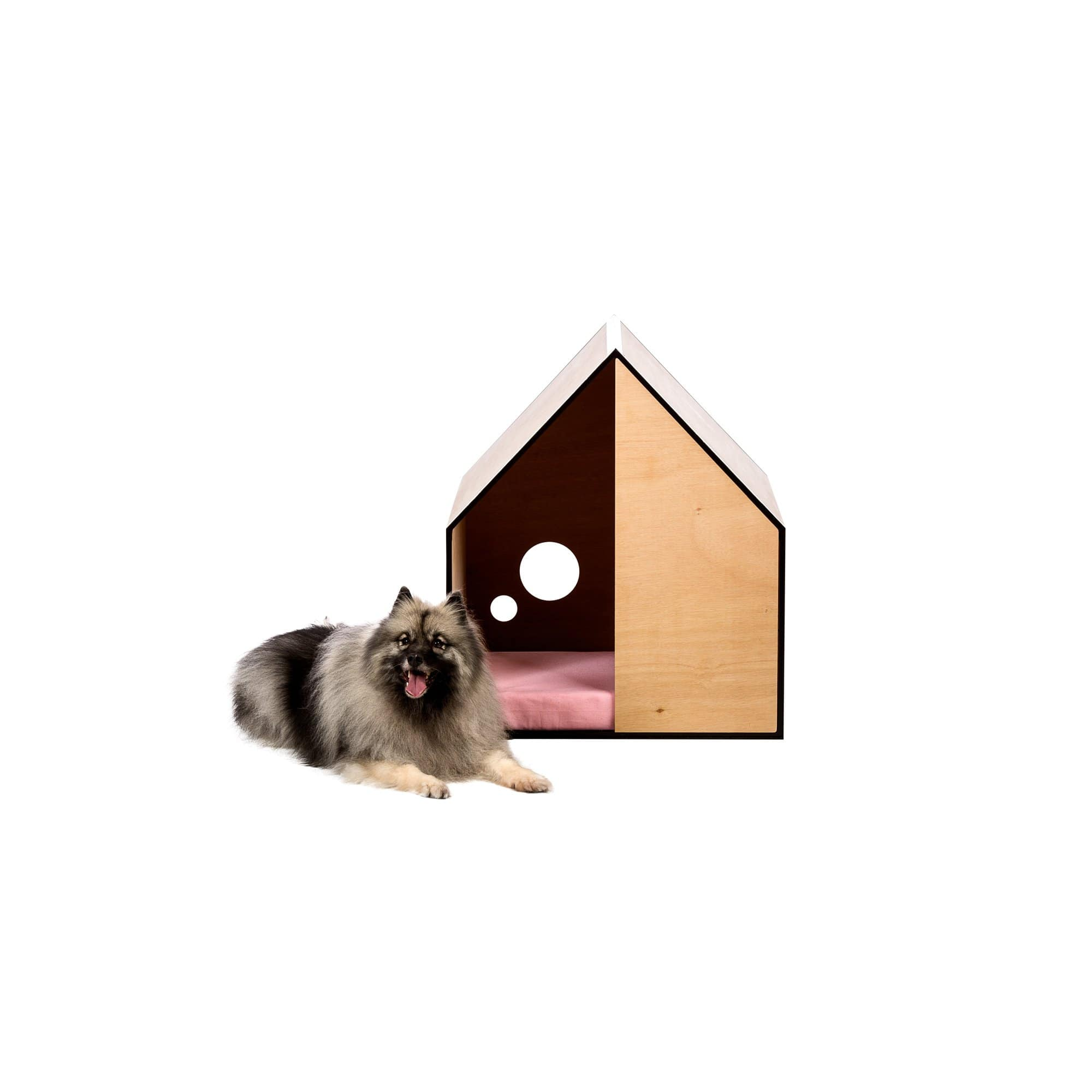 Ply + Musk Pink Dog House