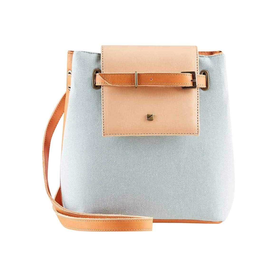 Gentle Recycled Mini Bucket Bag