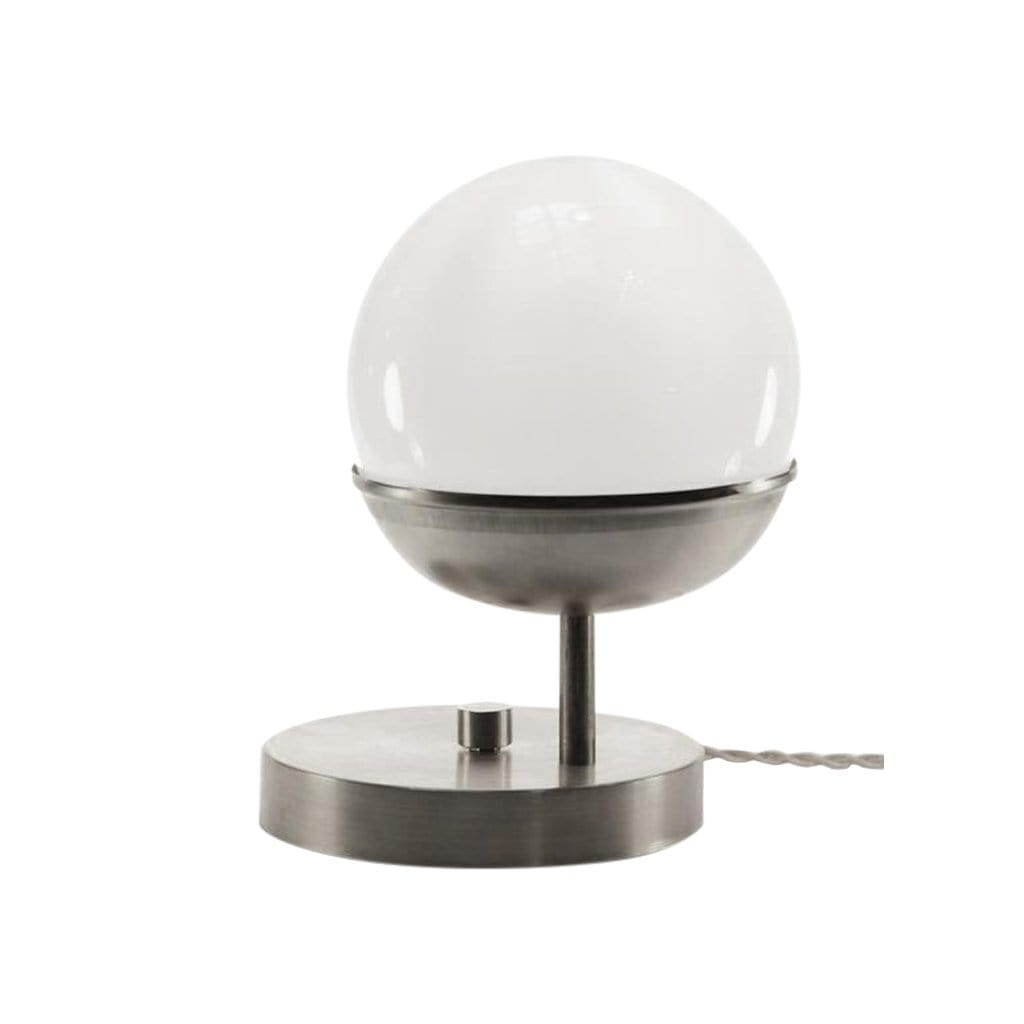 Michele Varian Table Steel Off Center Globe Table Light