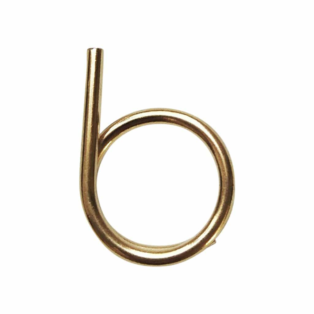 Minimaliti Rings Twisted Asymmetrical Gold Ring