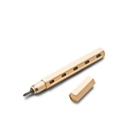 Mininch Notebooks & Writing Tools Gold Tool Pen