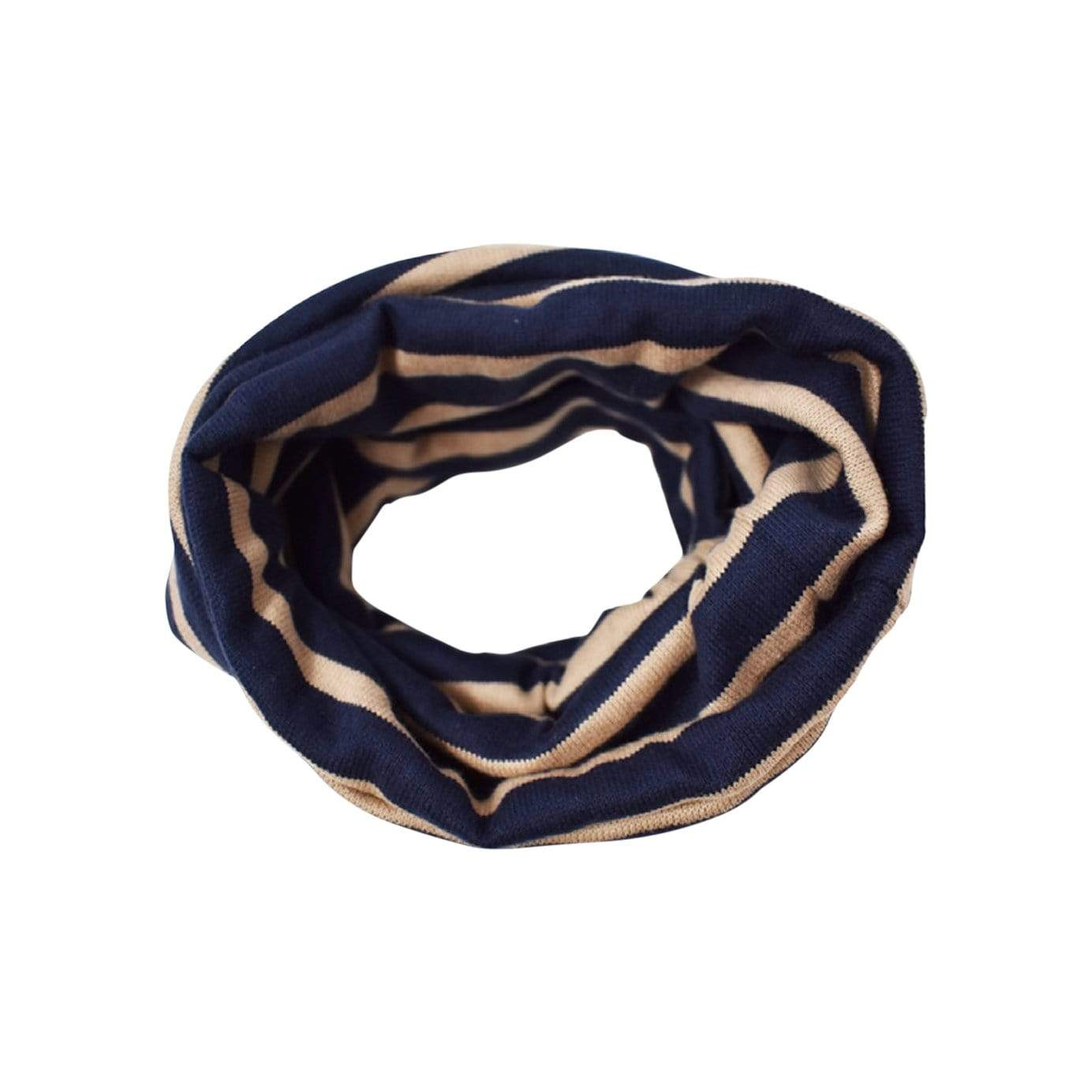 MODERNBEAST Bandanas + Bow Ties Navy + Tan / SM Snood
