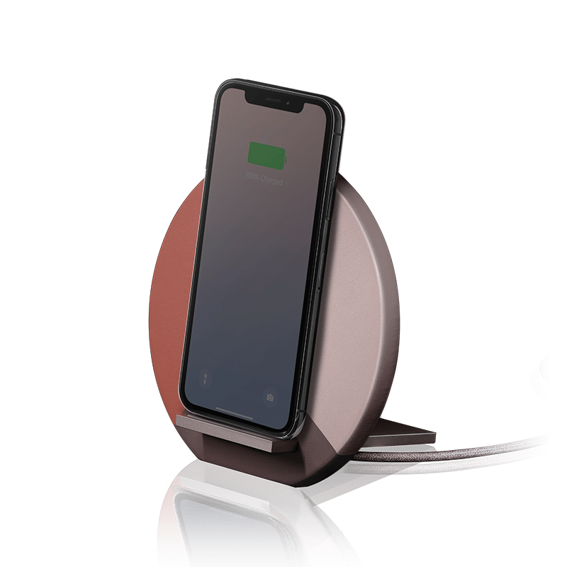 Native Union Apple Essentials Rose Native Union Dock Marquetry Wireless Charger