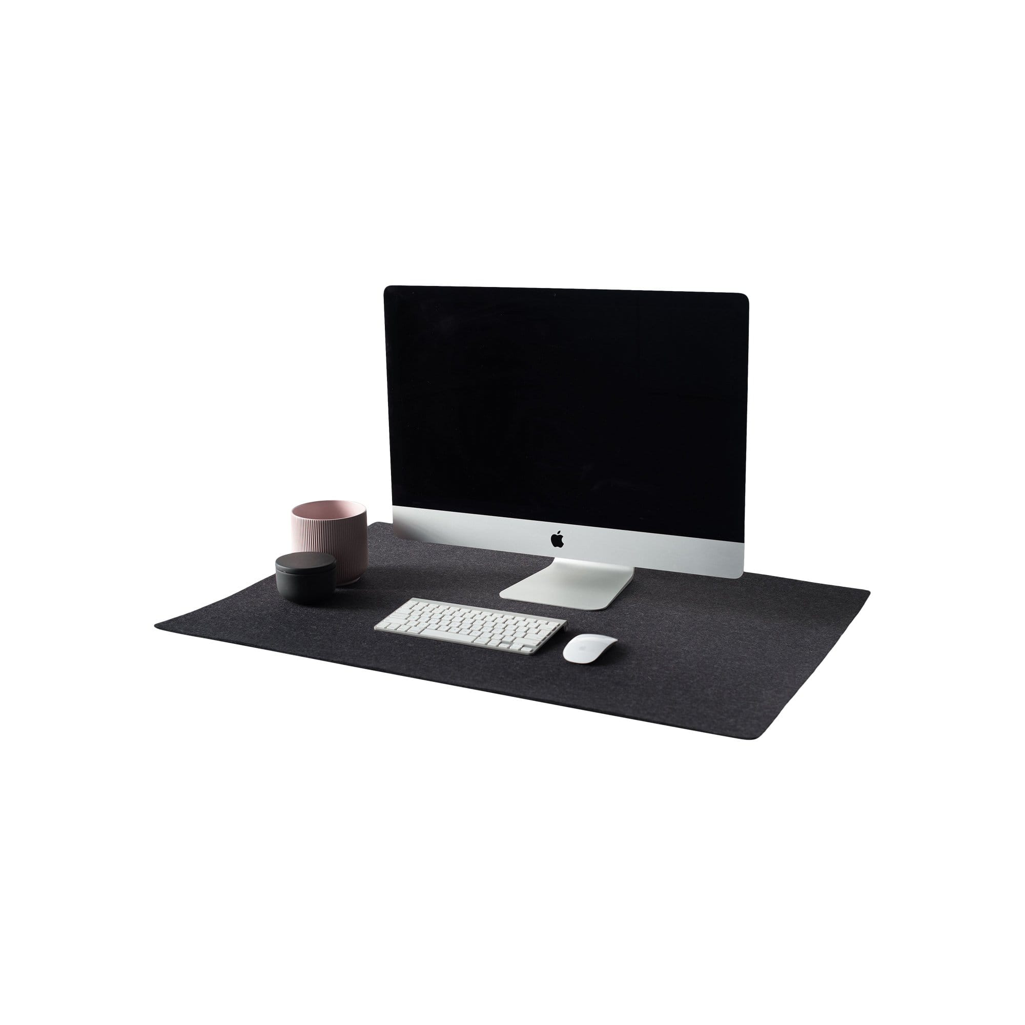 nedrelow Desk Accessories Wool Felt Desk Mat