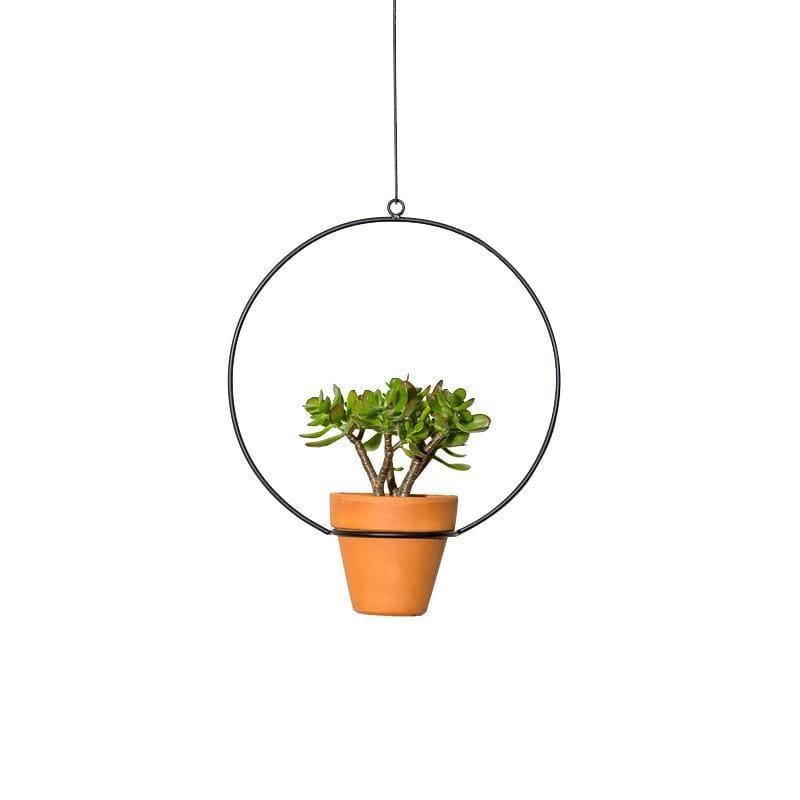 "New Made LA 10"" Hanging Circle Planter"