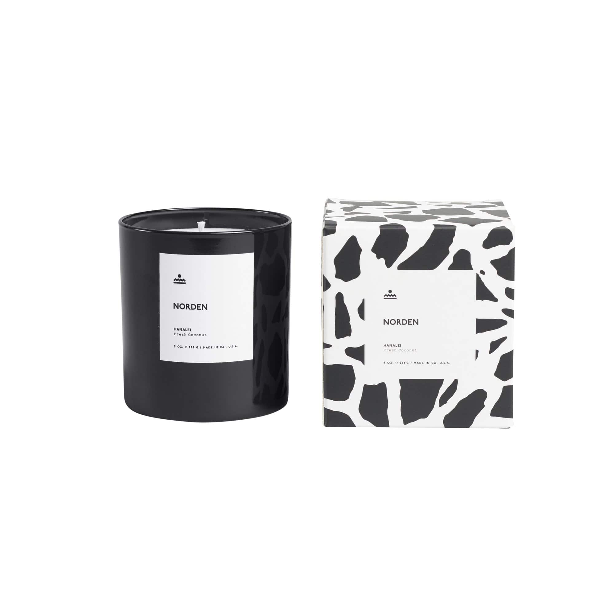 Norden Goods Candles, Diffusers + Incense Hanalei 9 oz. Glass Candle