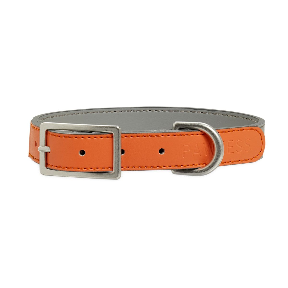 Pawness Collars + Harnesses Vegan Leather Collar Bo – Coral