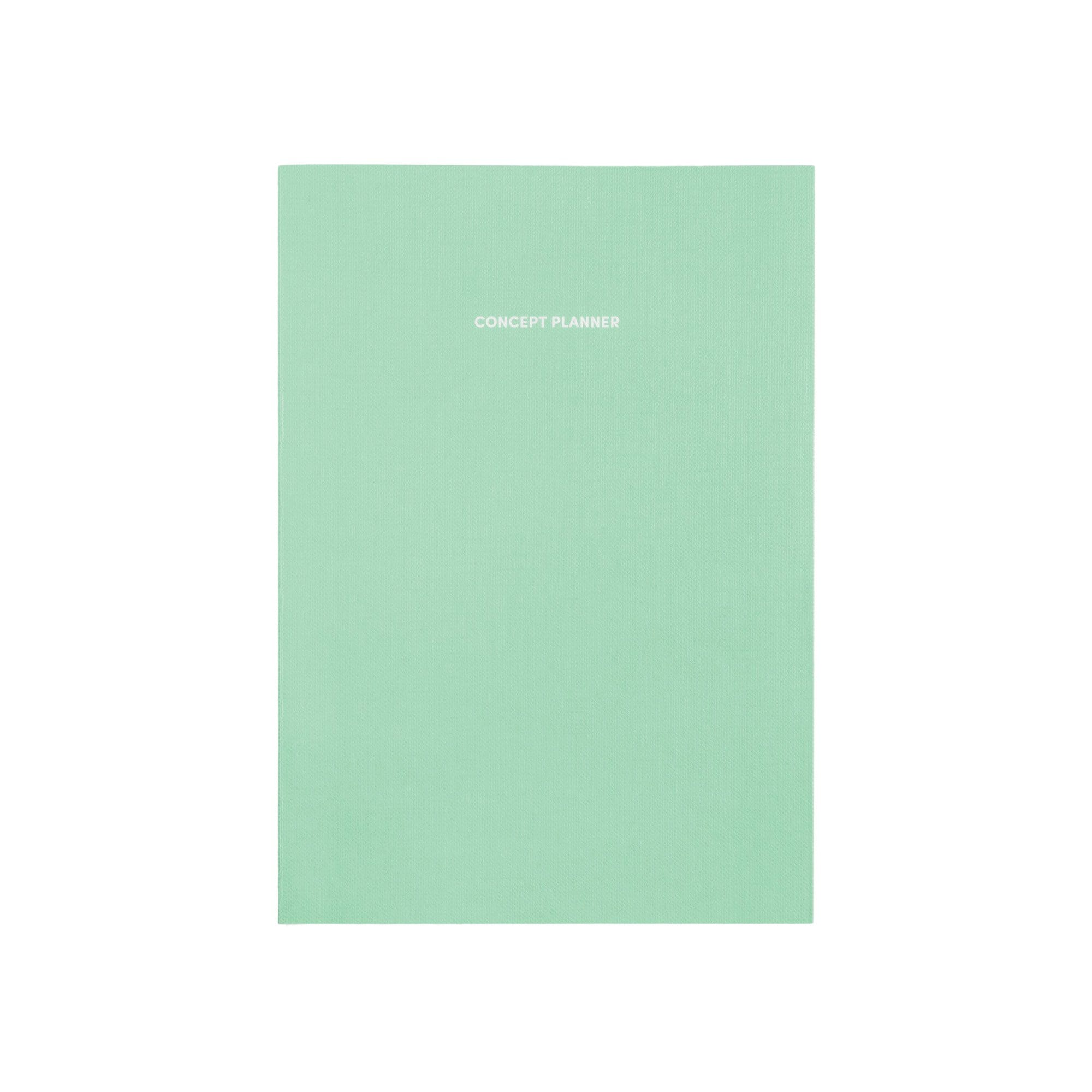 Poketo Notebooks + Stationery Concept Mint Planner