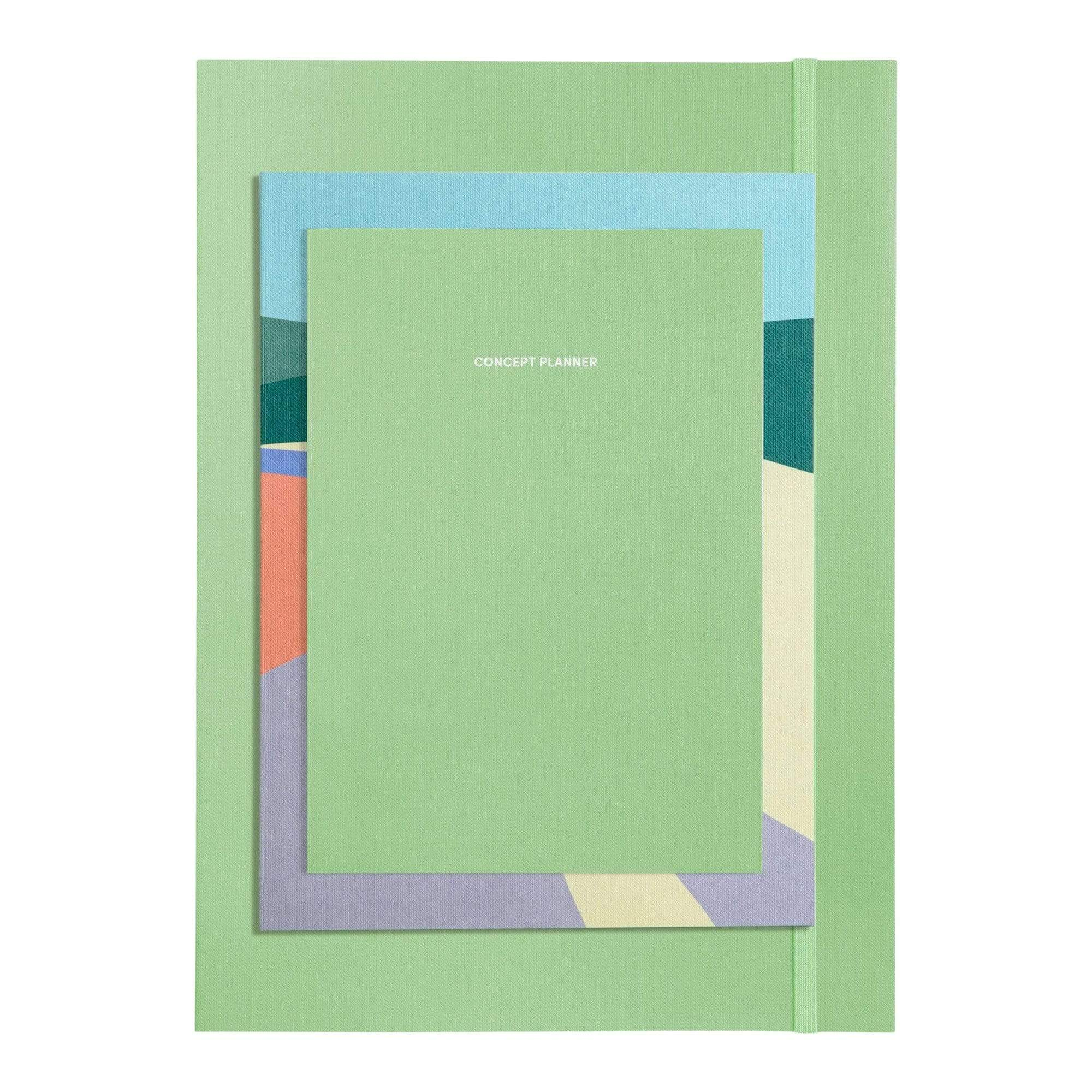 Next Page Collection Set in Seafoam