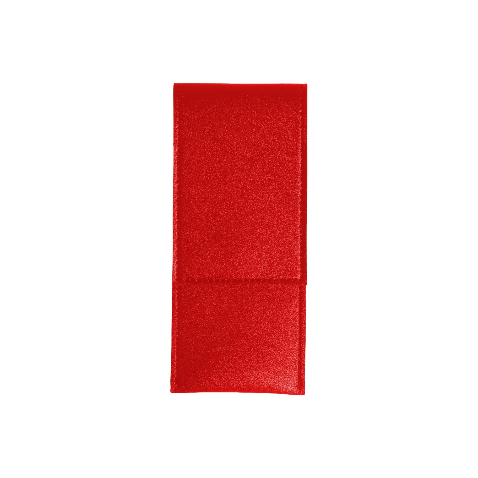 Elastic Minimalist Pen Pouch in Red