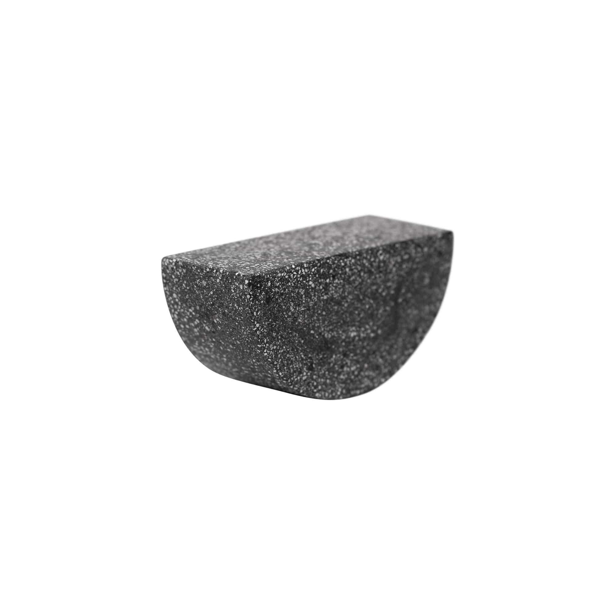 Pretti.Cool Decorative Objects Black Terrazzo Concrete Table Totter