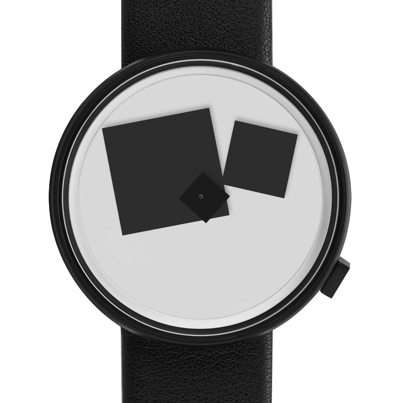 Projects Watches Watches Bauhaus Century Black Watch