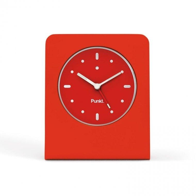 Punkt Clocks Red Alarm Clock