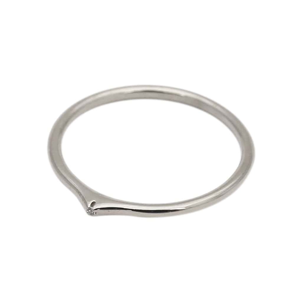 Rahya Jewelry Design Rings Ace Stacking Silver Ring