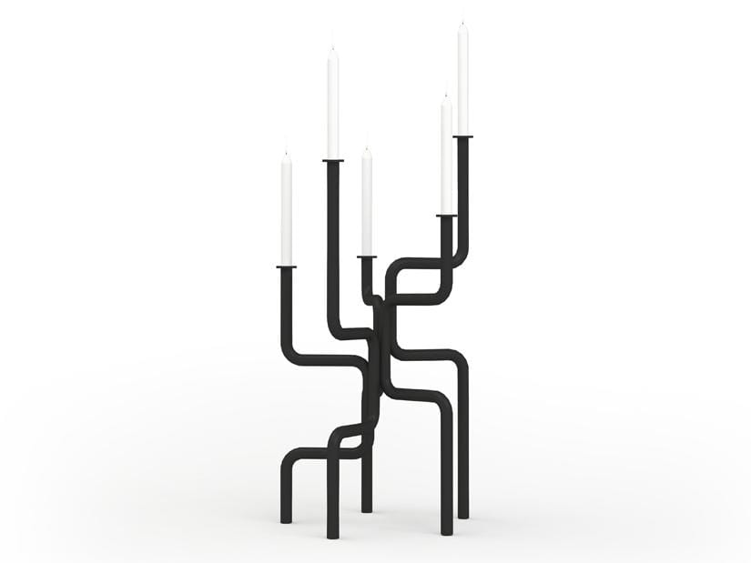 Walk of Flame Candle Holder