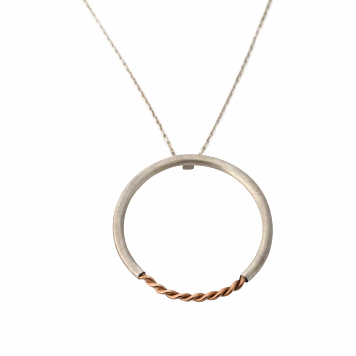 Simplicated Jewelry Necklaces Geometric Circle Pendant Necklace