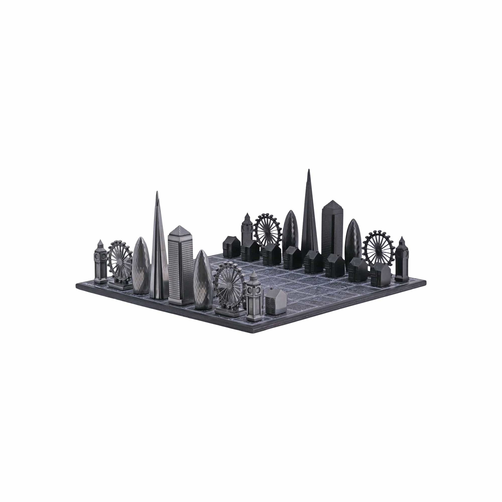 Skyline Chess Games Premium Metal London Edition