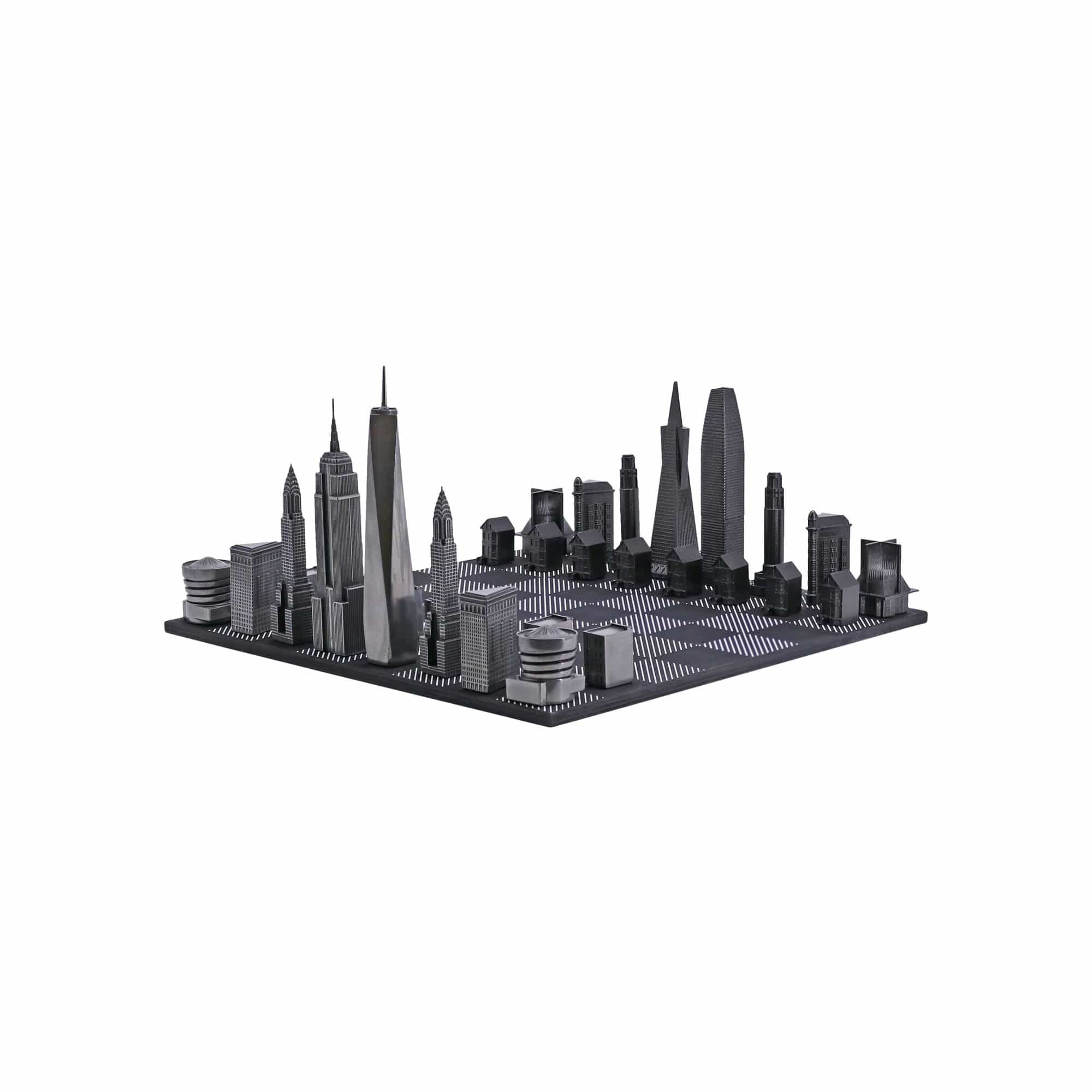 Skyline Chess Games Premium Metal Two Cities Edition