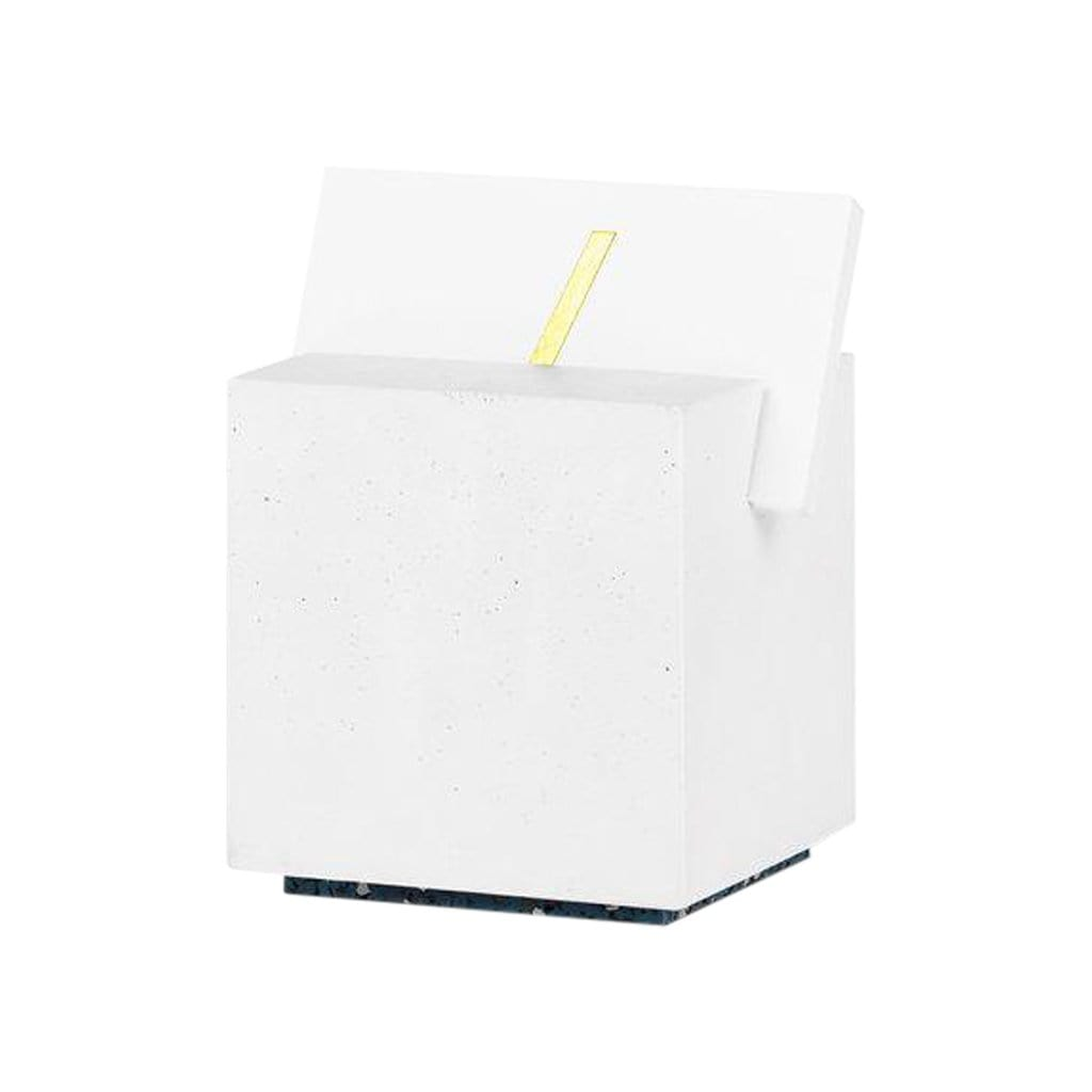 Slash Objects Desk Accessories Card Holder in White