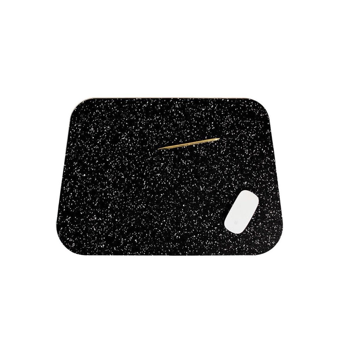 Slash Objects Desk Accessories Speckled Black R2 Deskmat