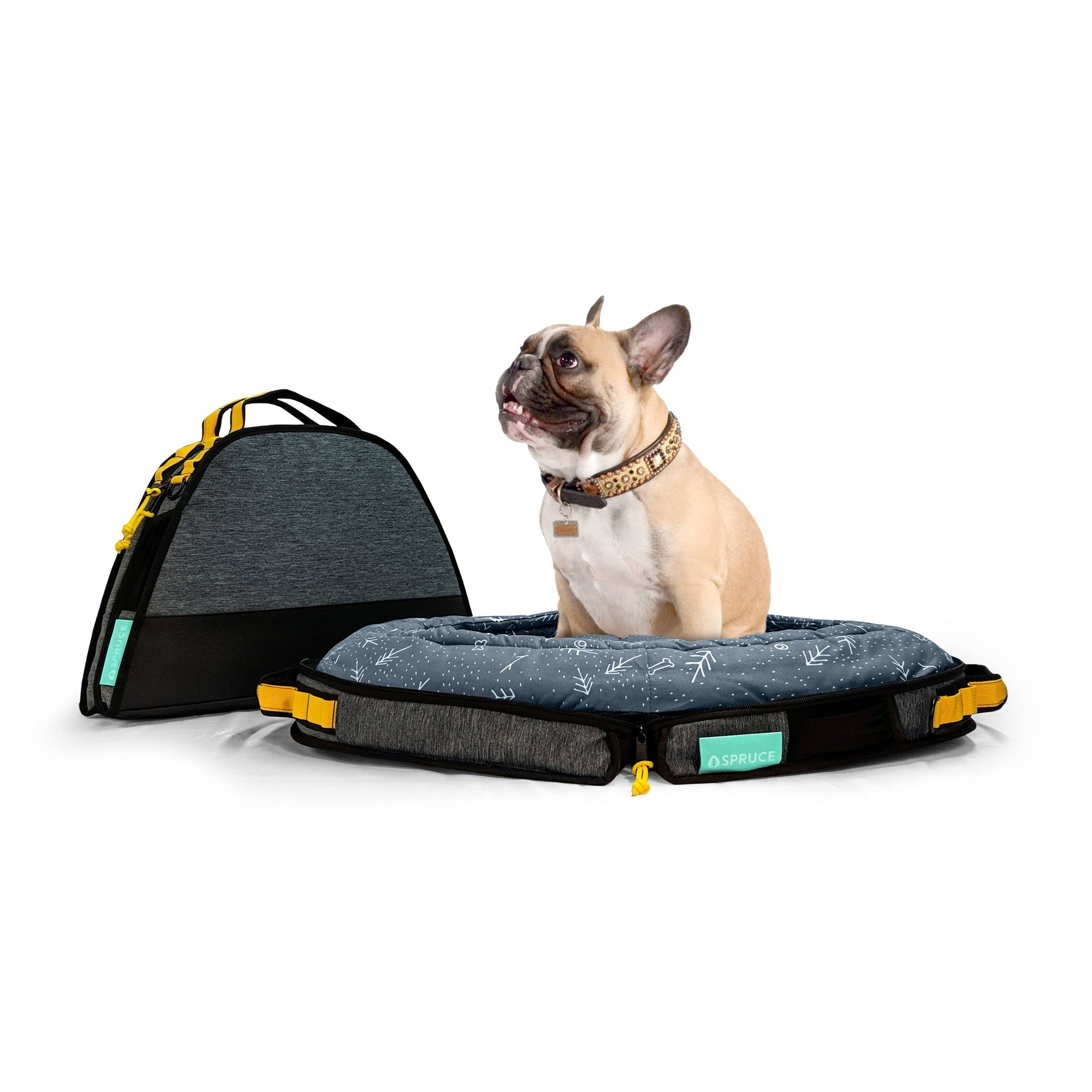 Spruce Pup Travel Beds + Mats Spruce Small Travel Dog Bed