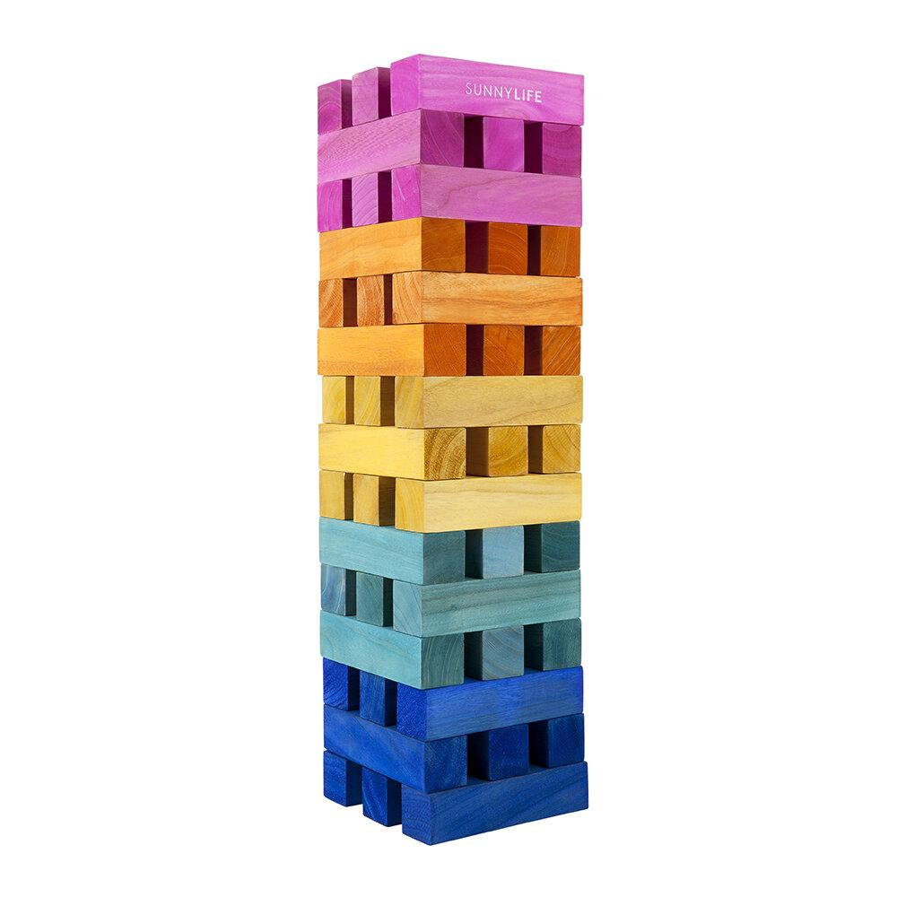 SUNNYLIFE Games Heat Wave 3' Mega Jumbling Tower
