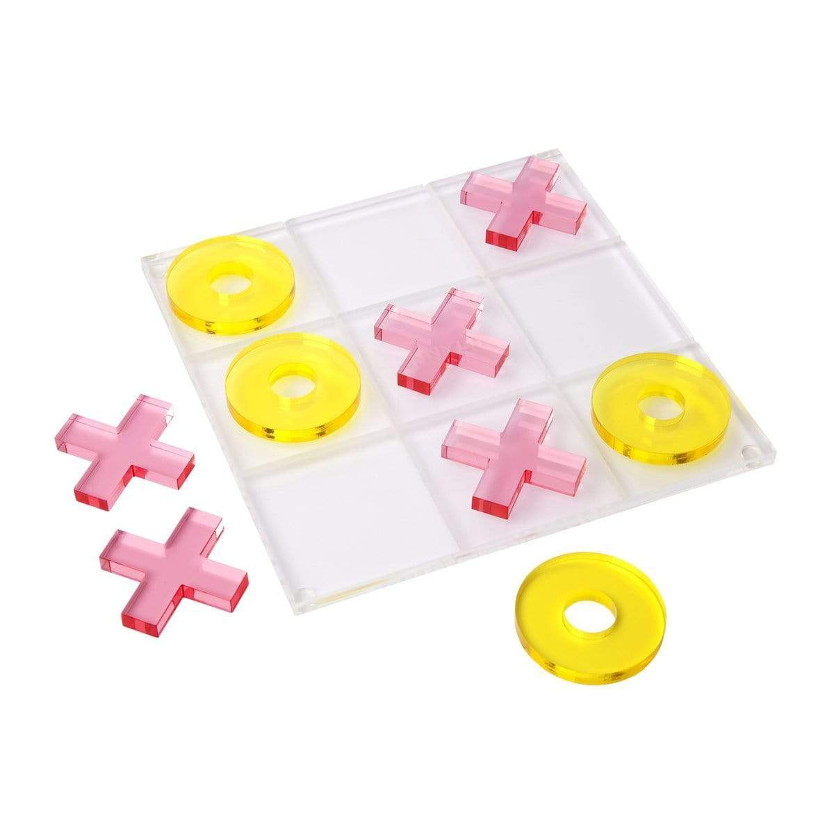 SUNNYLIFE Games Lucite Super Fly Tic Tac Toe
