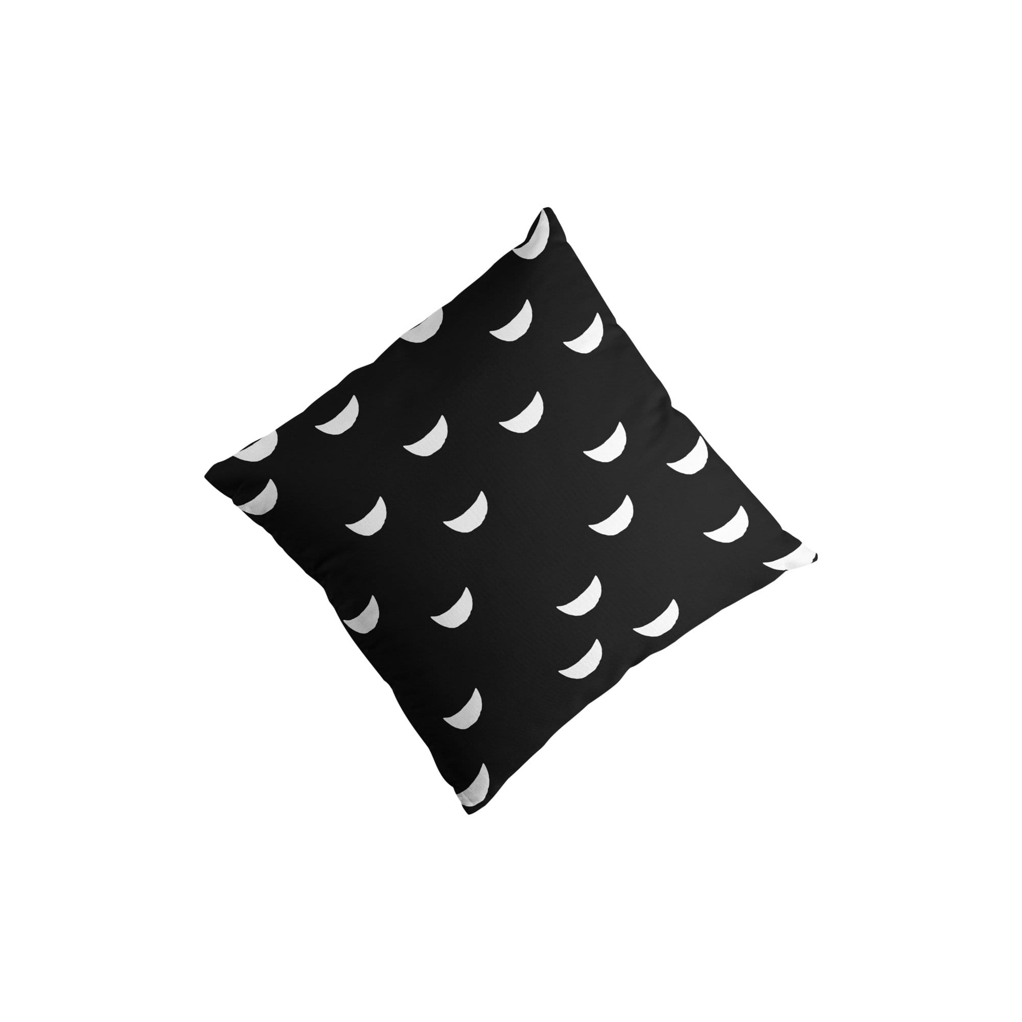 Moons Throw Pillow Cover