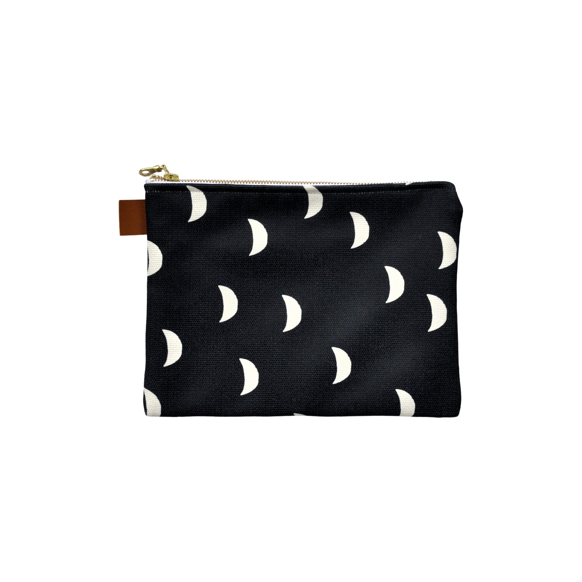 Swell Made Co. Handbags + Clutches Moons Canvas Pouch