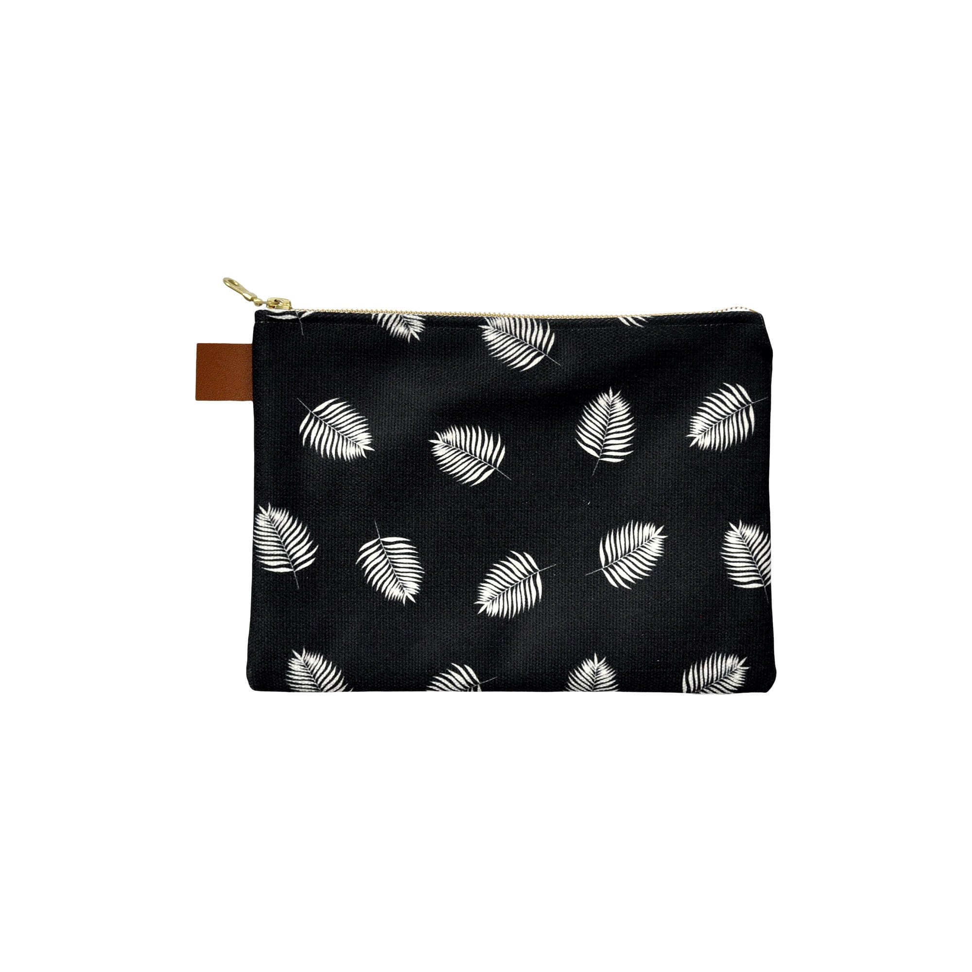 Swell Made Co. Handbags + Clutches Palms Canvas Pouch