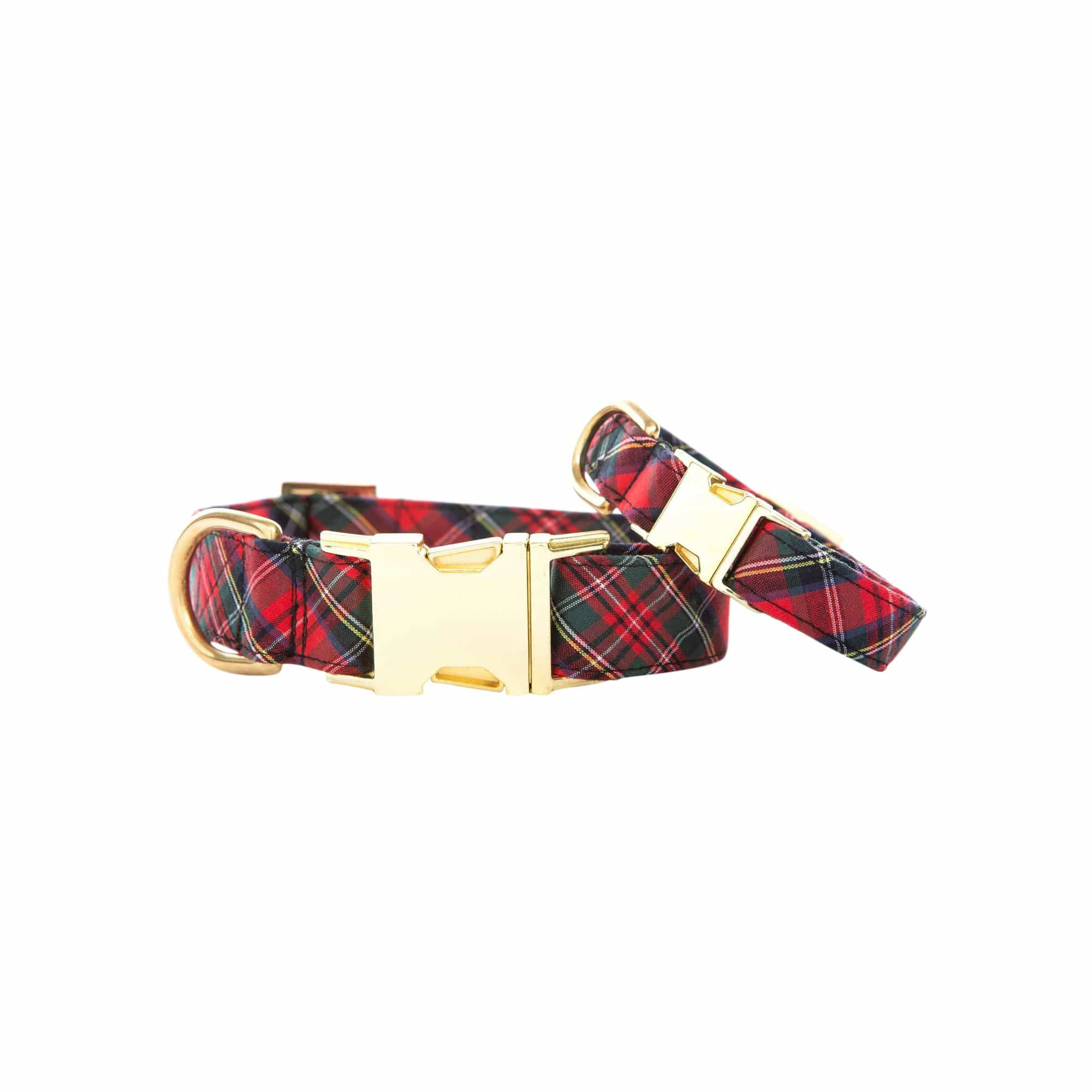 Tartan Plaid Dog Collar