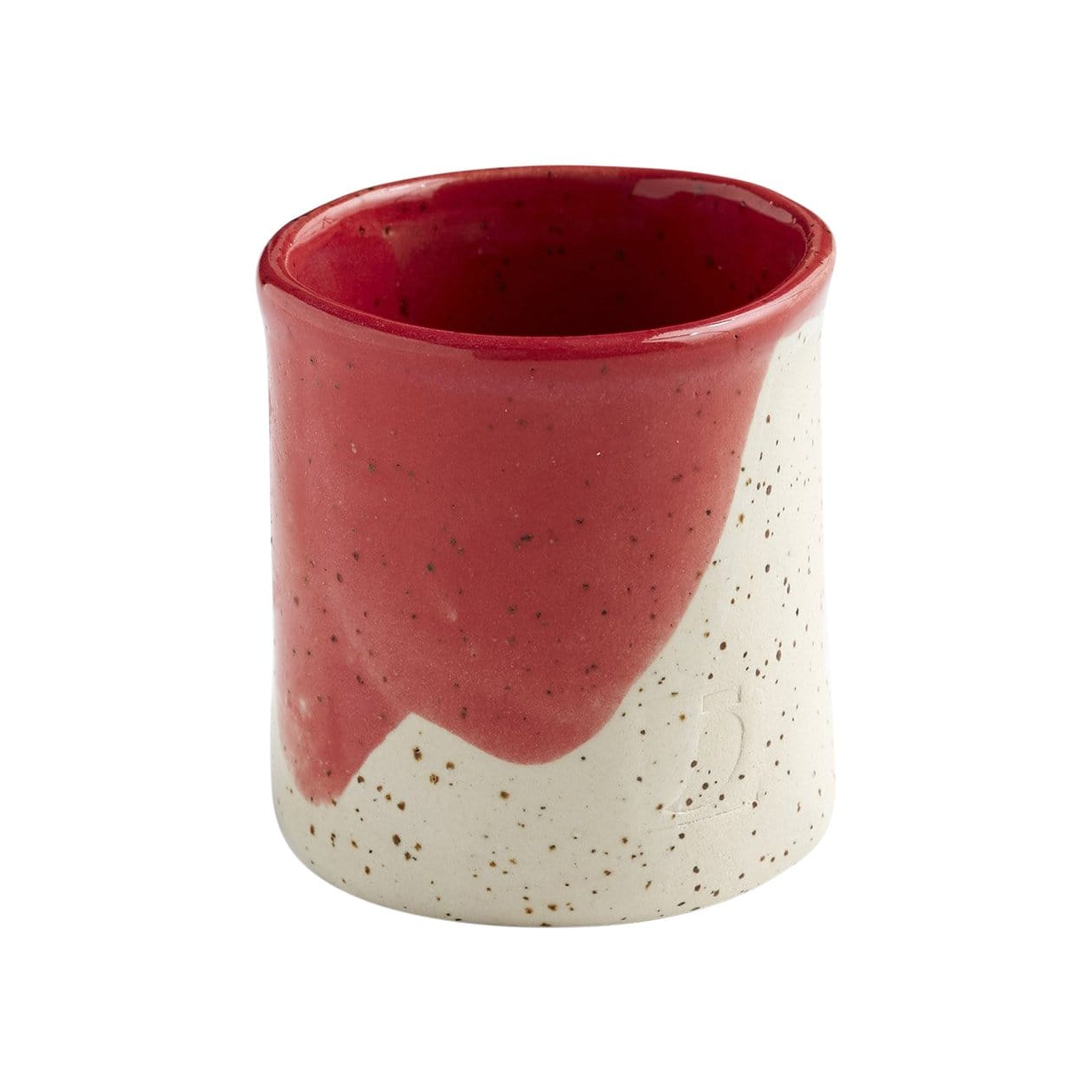 The Painter's Wife Cups + Mugs Ceramic Red Painted Cup